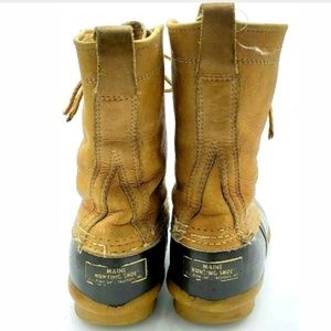 L.L. Bean Shoes - L.L.Bean Womens Vintage Maine Hunting Duck Boots